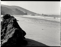 Beach Along Big Sur Coast